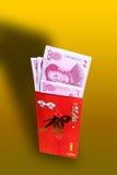 Dinero del regalo por Año Nuevo chino Fotografía de archivo