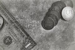 Dinero del vintage Fotos de archivo libres de regalías