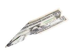 Dinero del vuelo Imágenes de archivo libres de regalías