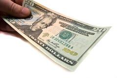 Dinero a disposición Fotos de archivo