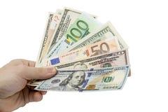 Dinero a disposición Foto de archivo