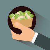 Dinero e inversión Imagen de archivo libre de regalías