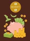 Dinero e inversión Foto de archivo libre de regalías