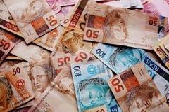 Dinero el Brasil imágenes de archivo libres de regalías