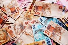 Dinero el Brasil Foto de archivo libre de regalías
