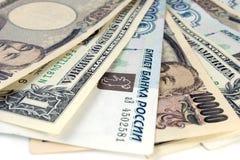Dinero en circulación. Fotografía de archivo