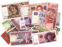 Dinero en circulación Fotografía de archivo