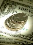 Dinero en circulación Foto de archivo