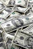 Dinero en circulación Imágenes de archivo libres de regalías