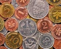 Dinero en circulación alemán del Marco alemán fotografía de archivo