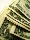 Dinero en circulación americano Fotos de archivo libres de regalías