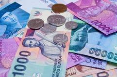 Dinero en circulación asiático Fotografía de archivo libre de regalías