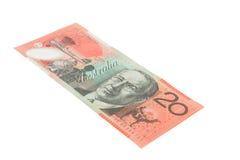 Dinero en circulación australiano Imagenes de archivo