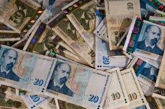 Dinero en circulación búlgaro Fotos de archivo libres de regalías