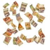 Dinero en circulación británico Foto de archivo
