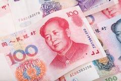 Dinero en circulación chino Imagenes de archivo