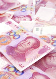 Dinero en circulación chino Foto de archivo libre de regalías