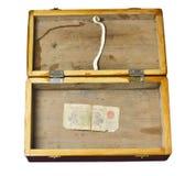 Dinero en circulación chino raro encontrado Foto de archivo libre de regalías