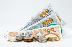 Dinero en circulación danés Foto de archivo