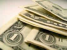 Dinero en circulación de Estados Unidos Fotos de archivo libres de regalías