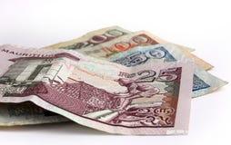 Dinero en circulación de Isla Mauricio foto de archivo