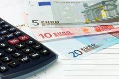 Dinero en circulación de la unión europea Fotos de archivo libres de regalías