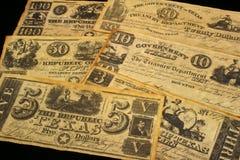 Dinero en circulación de la vendimia Foto de archivo libre de regalías