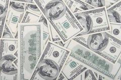 Dinero en circulación de los E.E.U.U. Imagen de archivo libre de regalías