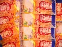 Dinero en circulación de Venezuela Imágenes de archivo libres de regalías
