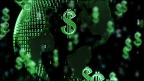 Dinero en circulación del mundo libre illustration