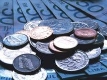 Dinero en circulación del ringgit Imágenes de archivo libres de regalías