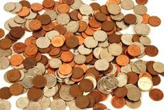 Dinero en circulación - dinero canadiense Fotos de archivo libres de regalías