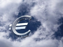Dinero en circulación euro. Fotografía de archivo