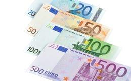 Dinero en circulación europeo. #033 Fotos de archivo