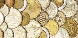 Dinero en circulación europeo Foto de archivo libre de regalías
