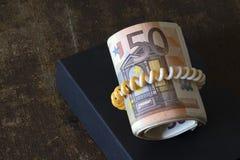 Dinero en circulación europeo Fotografía de archivo libre de regalías
