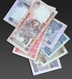 Dinero en circulación indio 10 fotografía de archivo