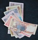 Dinero en circulación indio 4 Fotos de archivo