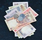 Dinero en circulación indio 6 Fotos de archivo