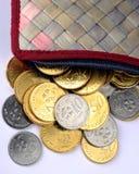 Dinero en circulación malasio Fotos de archivo