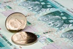 Dinero en circulación malasio Imagenes de archivo