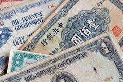 Dinero en circulación mezclado Fotos de archivo libres de regalías