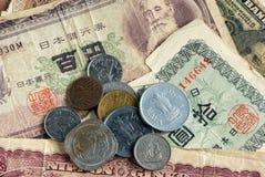 Dinero en circulación mezclado Foto de archivo libre de regalías