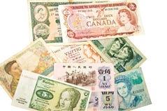 Dinero en circulación/mujeres del mundo Fotografía de archivo libre de regalías