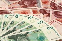 Dinero en circulación noruego Foto de archivo