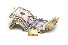Dinero en circulación protegido foto de archivo