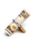 Dinero en circulación protegido fotografía de archivo