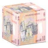 Dinero en circulación rumano Imágenes de archivo libres de regalías