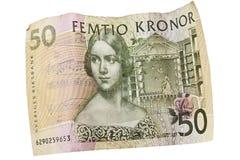 Dinero en circulación sueco con tema del teatro Fotografía de archivo
