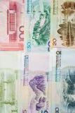 Dinero en circulación chino Imagen de archivo libre de regalías